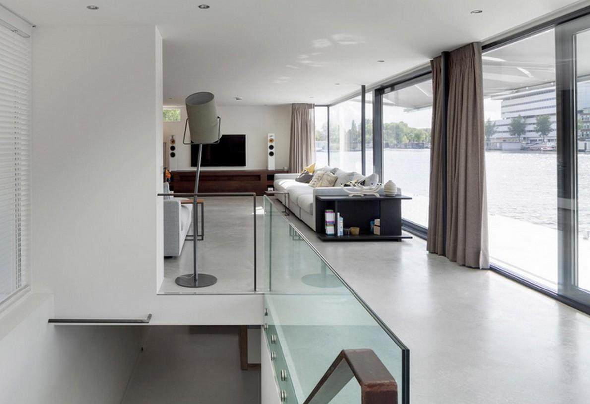Un dettaglio della casa di lusso ad Amsterdam