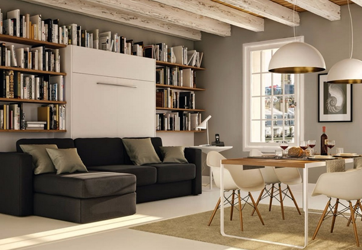 Idee per arredare una zona living a poco prezzo foto - Soluzioni economiche per arredare casa ...