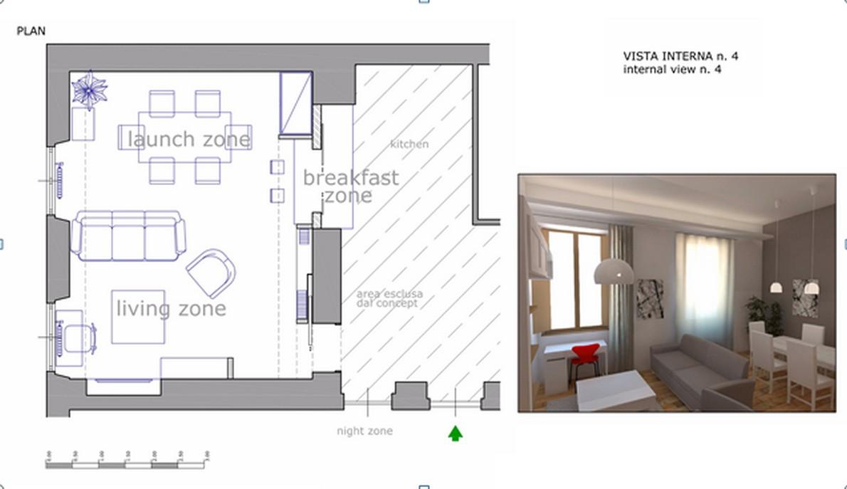 Idee per arredare una zona living a poco prezzo foto idealista news - Arredare cucina 4 mq ...