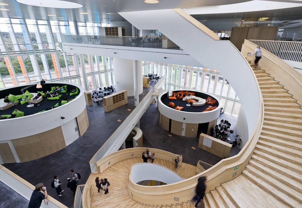 Scuole spettacolari: Orestad High School (Copenaghen, Danimarca)