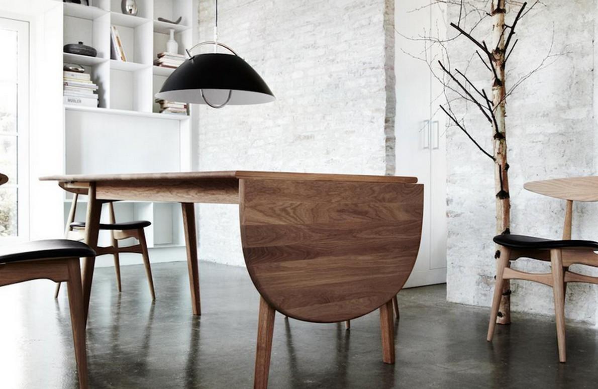 arredamento in legno e uso del bianco