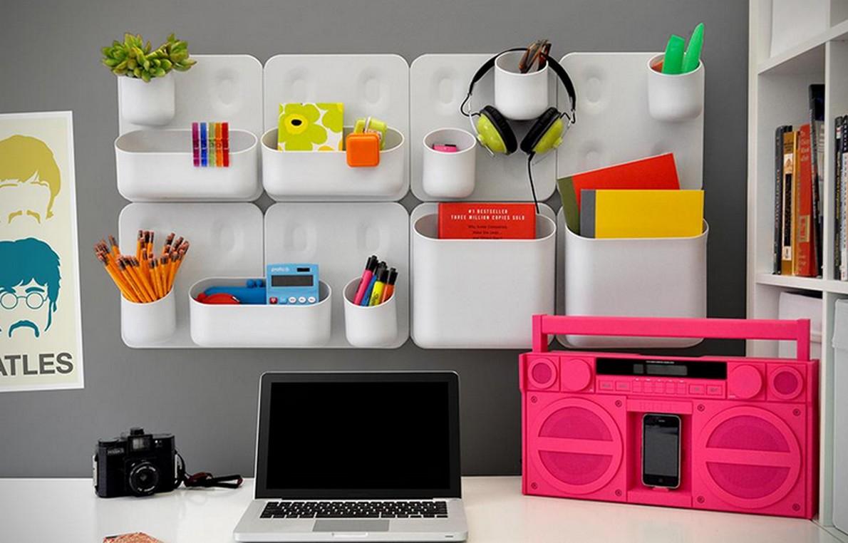 Decorazioni colorate per l'ufficio