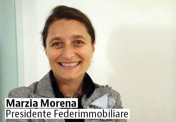 Marzia Morena Presidente Federimmobiliare
