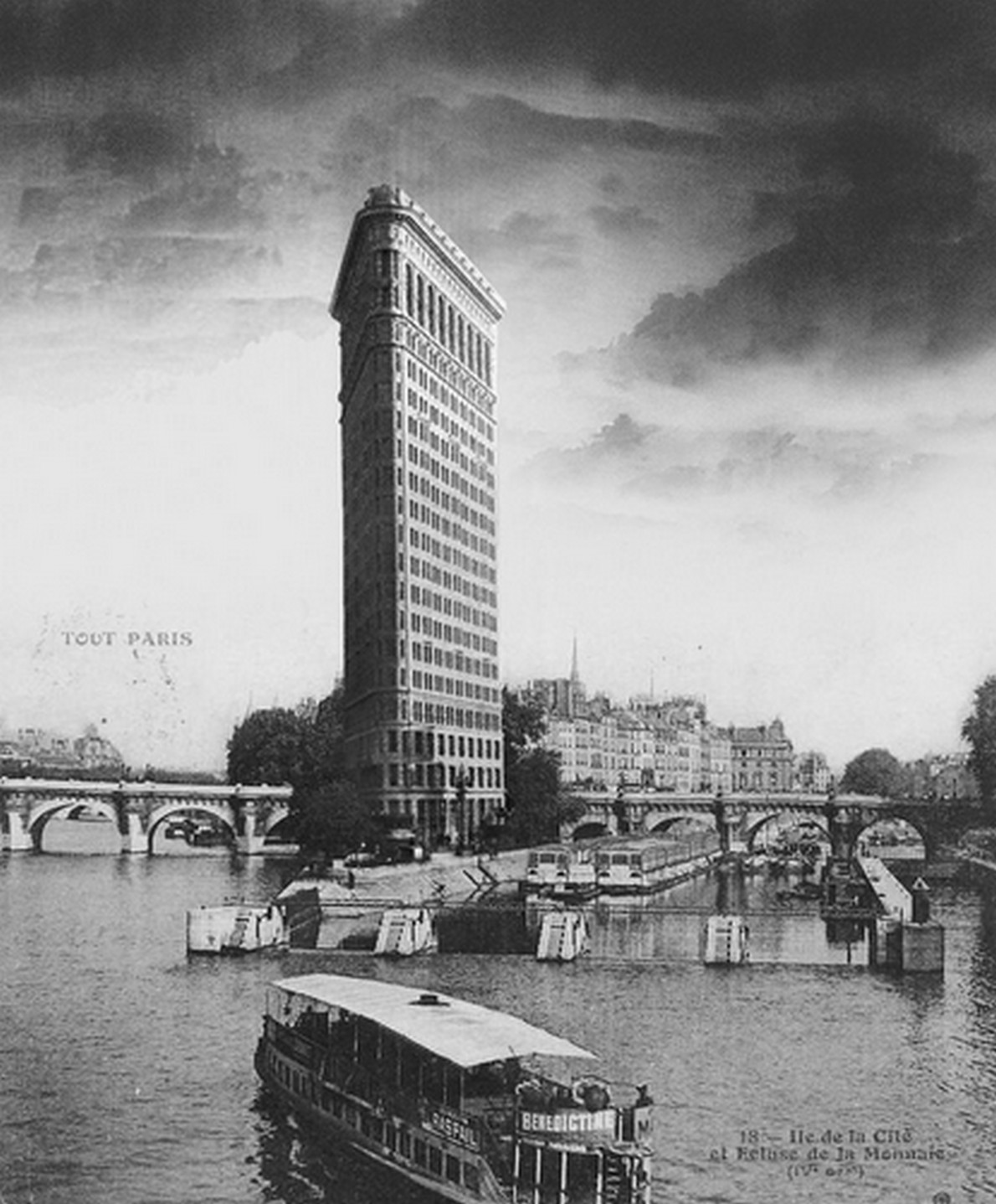 Edifici new yorkesi a Parigi