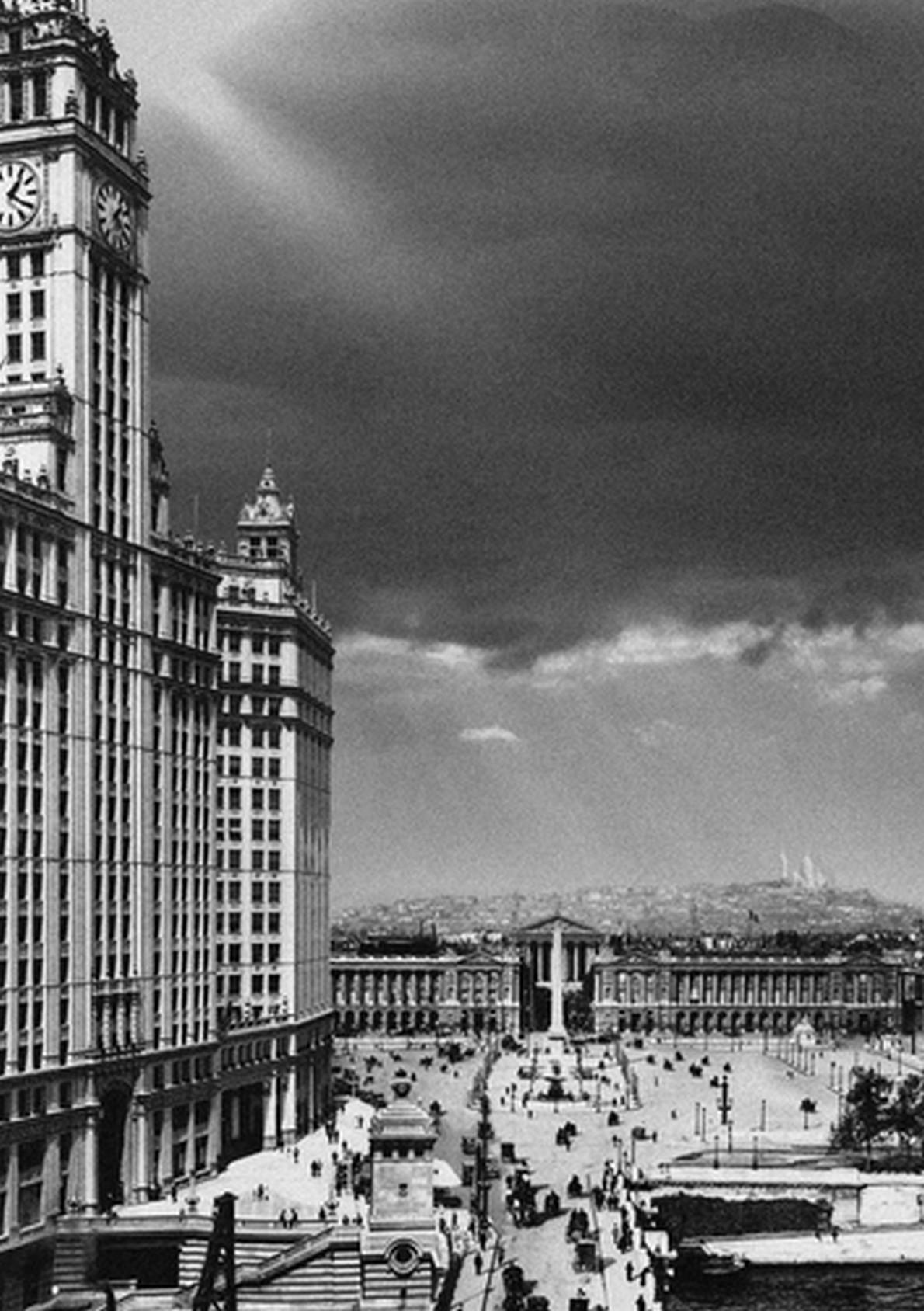 Cosa succede se l architettura di parigi si mescola con for New york architettura