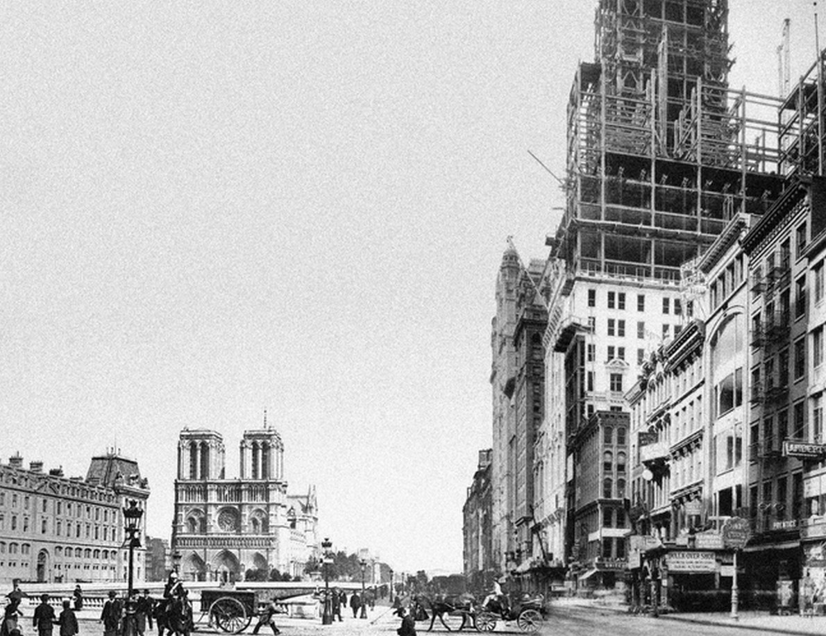 Cosa succede se l architettura di parigi si mescola con for Architettura a parigi
