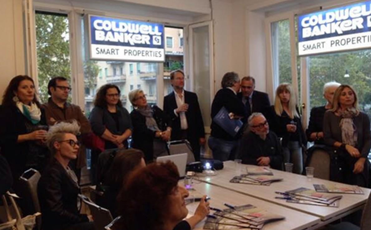evento di staging presso la sede di Coldwell Banker a Roma