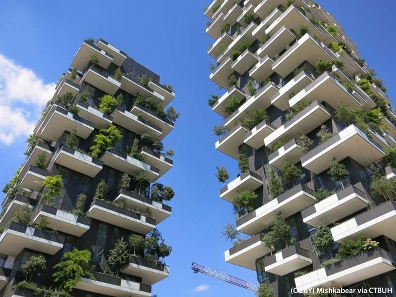 Il bosco verticale di Milano, premiato come il grattacielo più bello del mondo