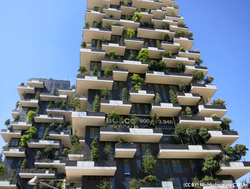 Al bosco verticale di milano il premio per il grattacielo for Bosco verticale architetto