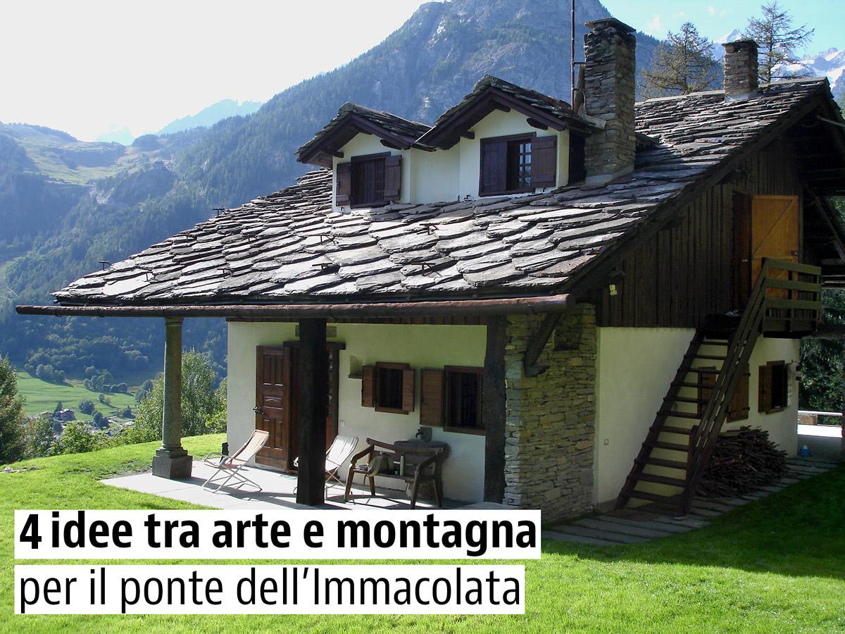Chalet a Courmayeur in Valle d'Aosta
