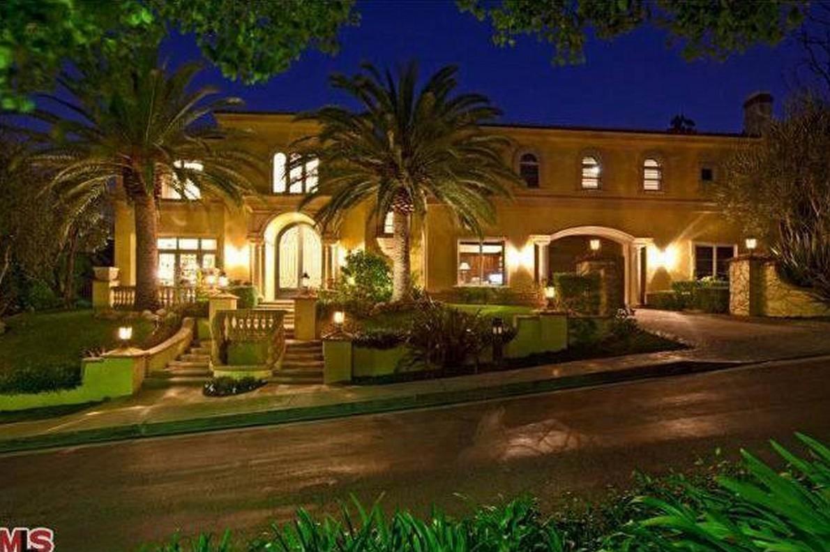 La villa di Charlie Sheen a Beverly Hills