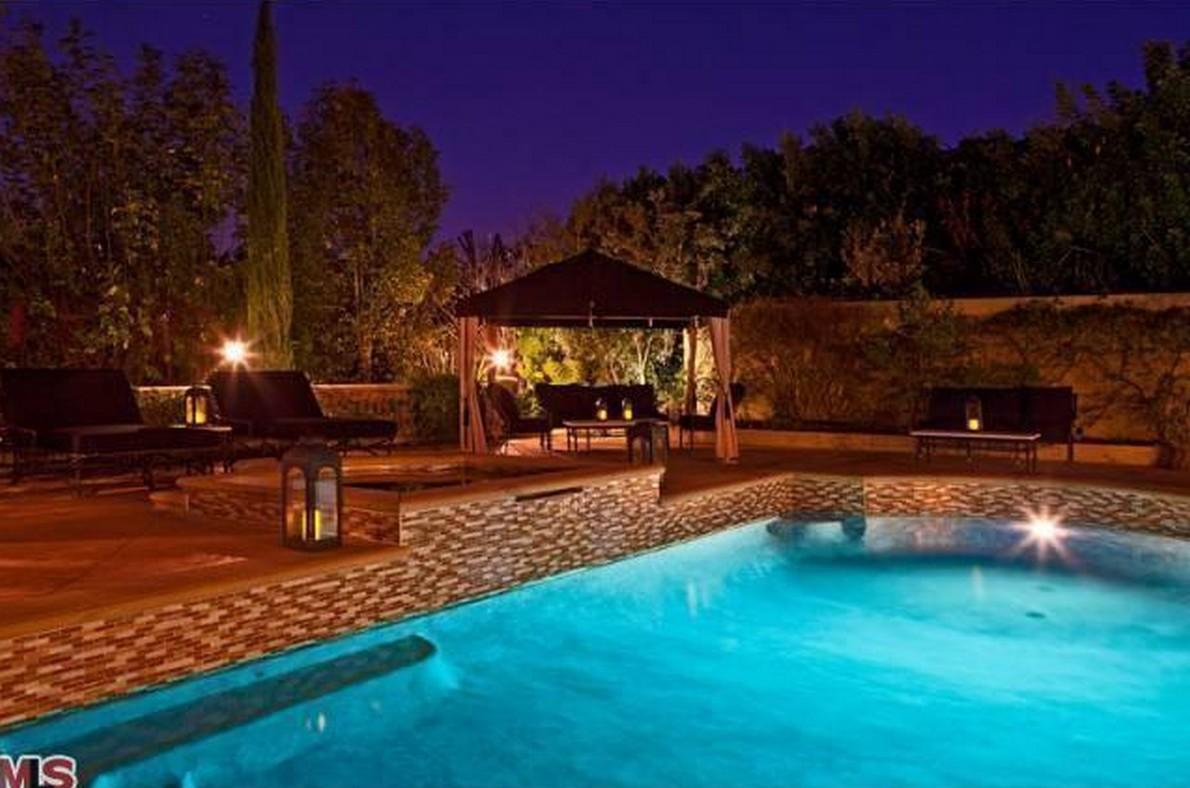 La villa di lusso di Charlie Sheen in California