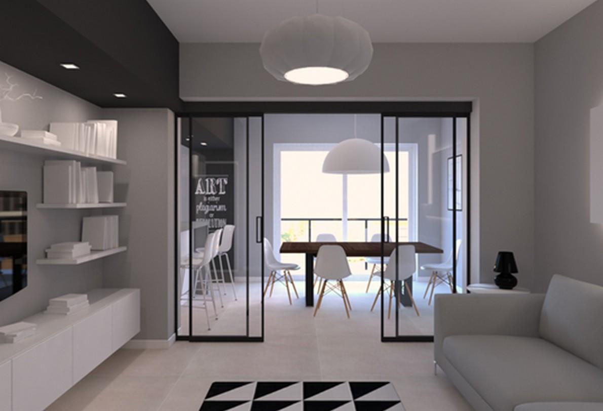 Idee per ristrutturare una casa su due livelli e renderla for Case arredate moderne foto