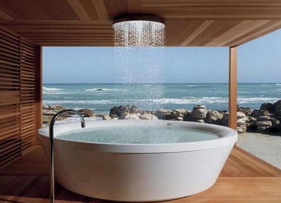 Una spettacolare doccia moderna
