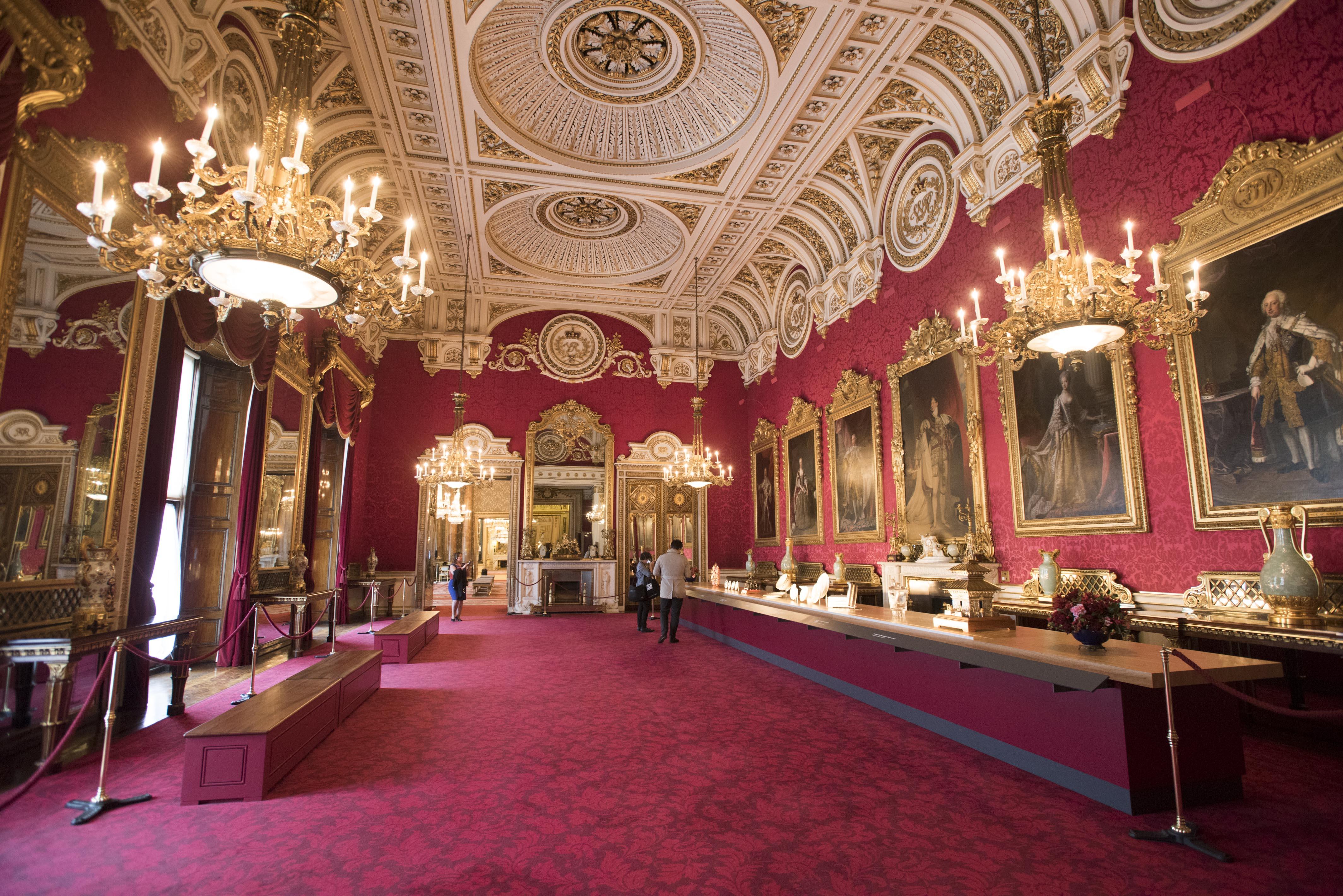 Dettaglio del palazzo dei reali inglesi