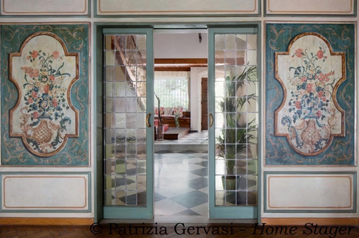 Dettaglio della villa di lusso in Toscana