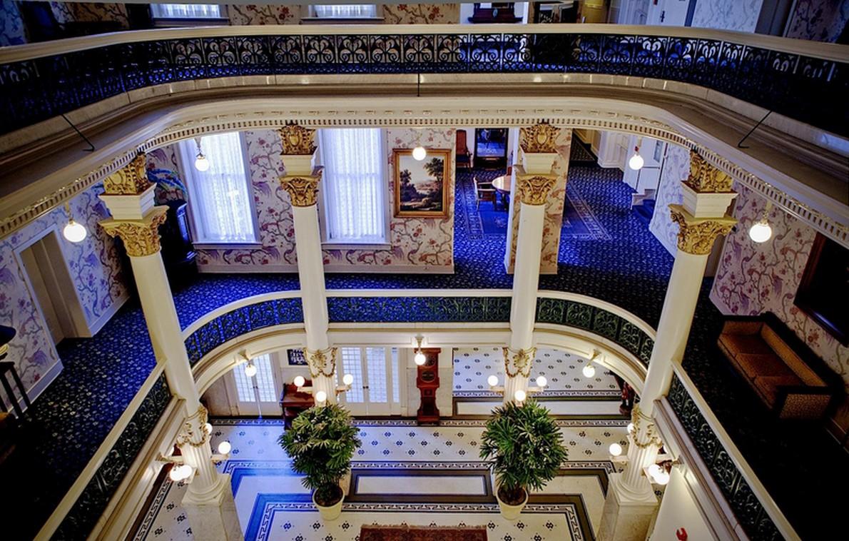 un'imagine del lussuoso hotel negli USA