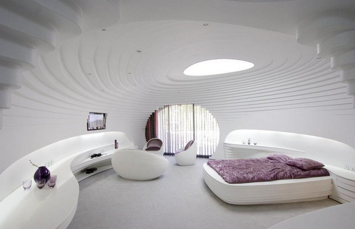 L'hotel futuristico in Iran