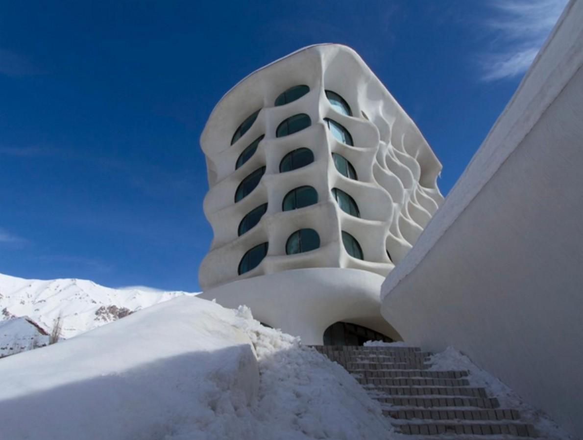 L'affascinante stile architettonico dell'hotel