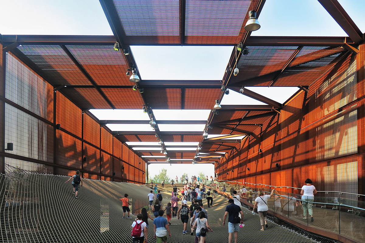 Un'immagine del Padiglione Brasile all'Expo