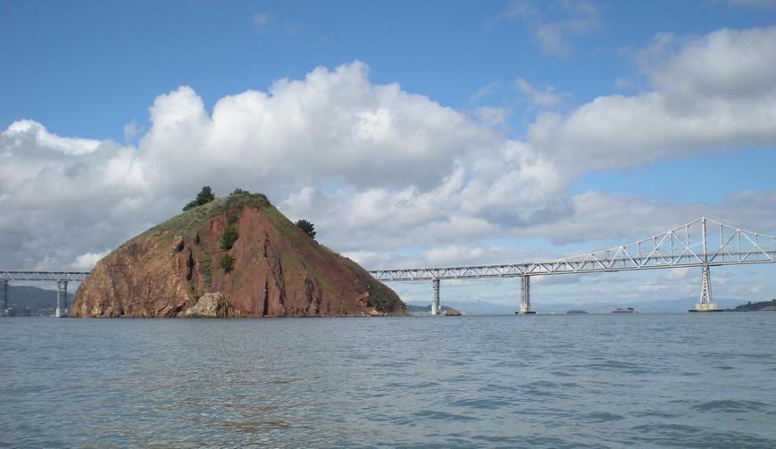 l'isola nella baia di San Francisco