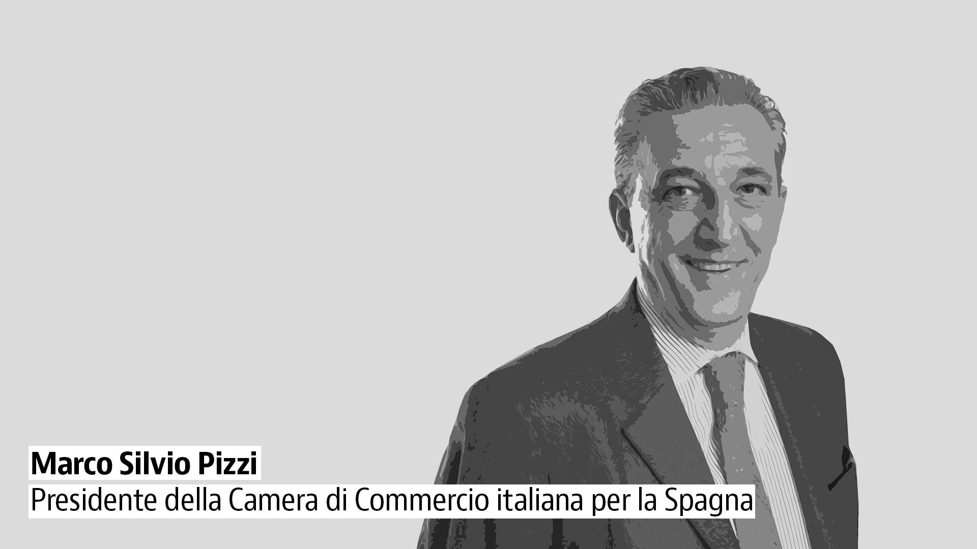 Marco Pizzi, presidente della Camera di Commercio italiana per la Spagna