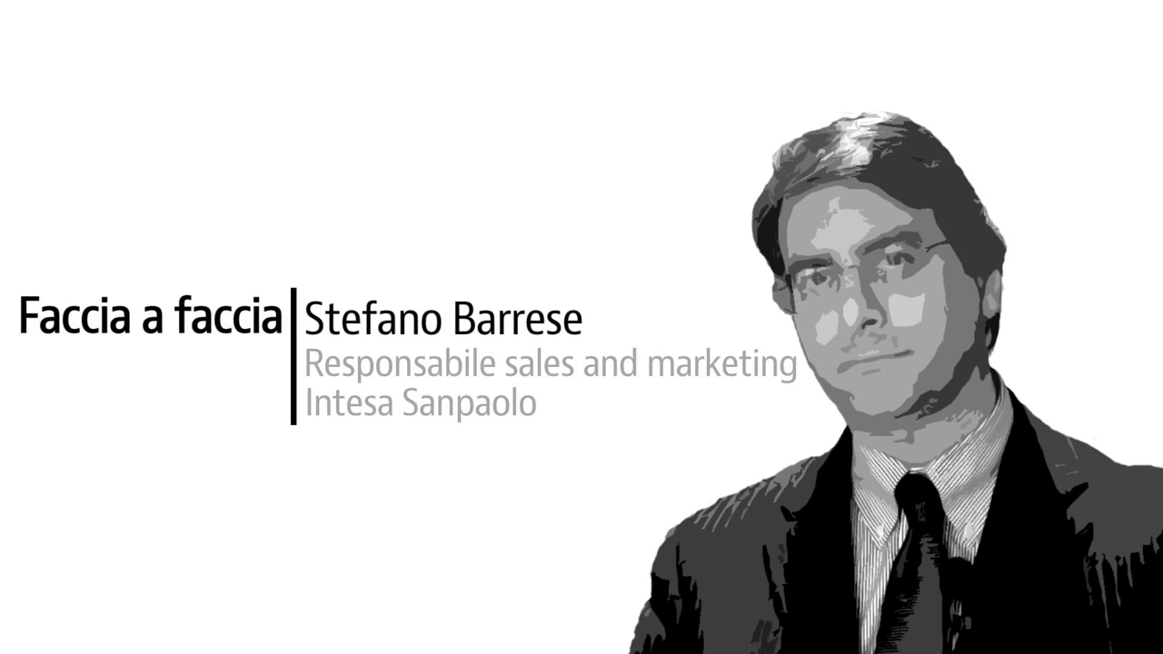 Stefano Barrese, responsabile sales and marketing di Intesa Sanpaolo