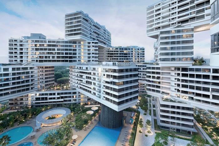 L'edificio di Singapore nominato come migliore dell'anno