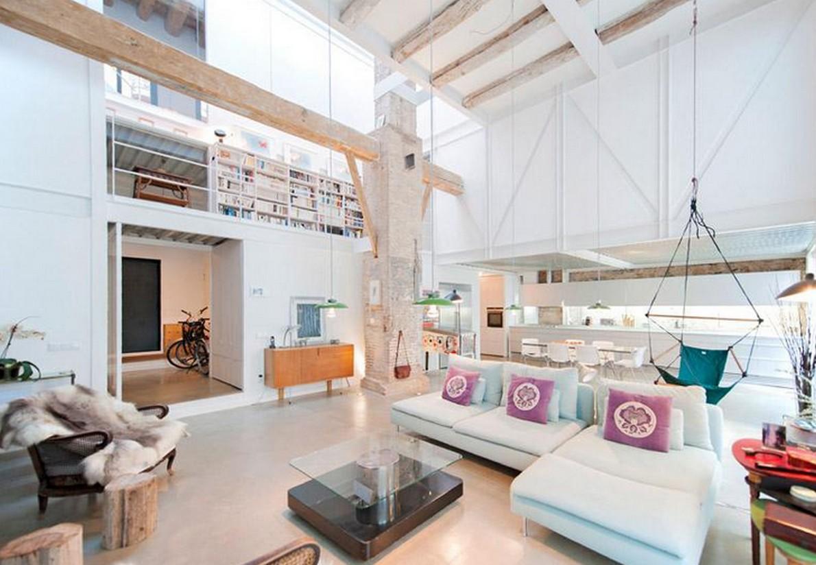 10 spettacolari esempi di come miscelare edifici vecchi for Esempi di arredamento interni