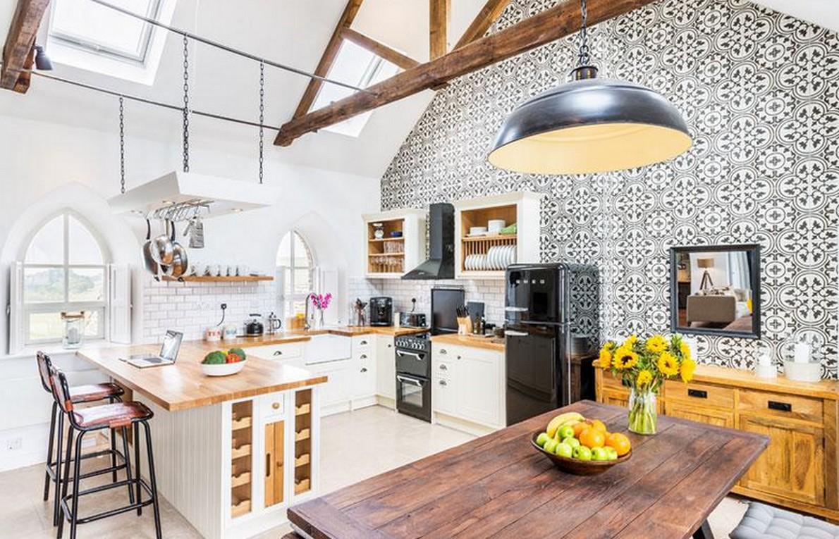 10 spettacolari esempi di come miscelare edifici vecchi for Vecchi piani di casa artigiano