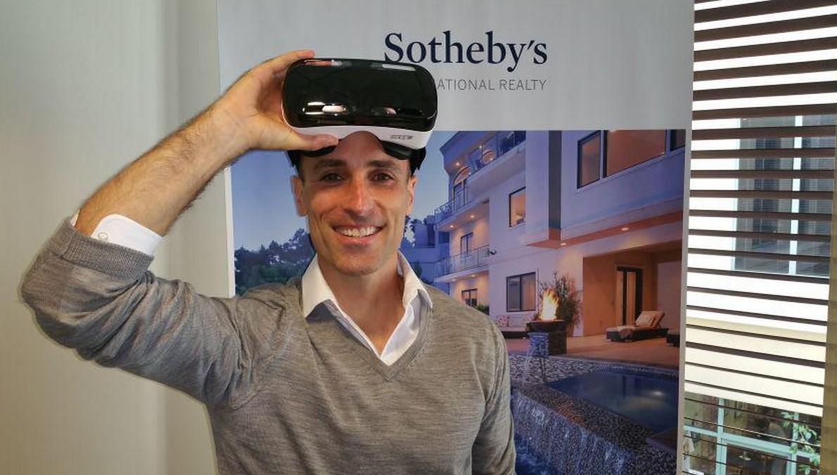 Realtà virtuale usata dalla casa d'aste Sotheby's