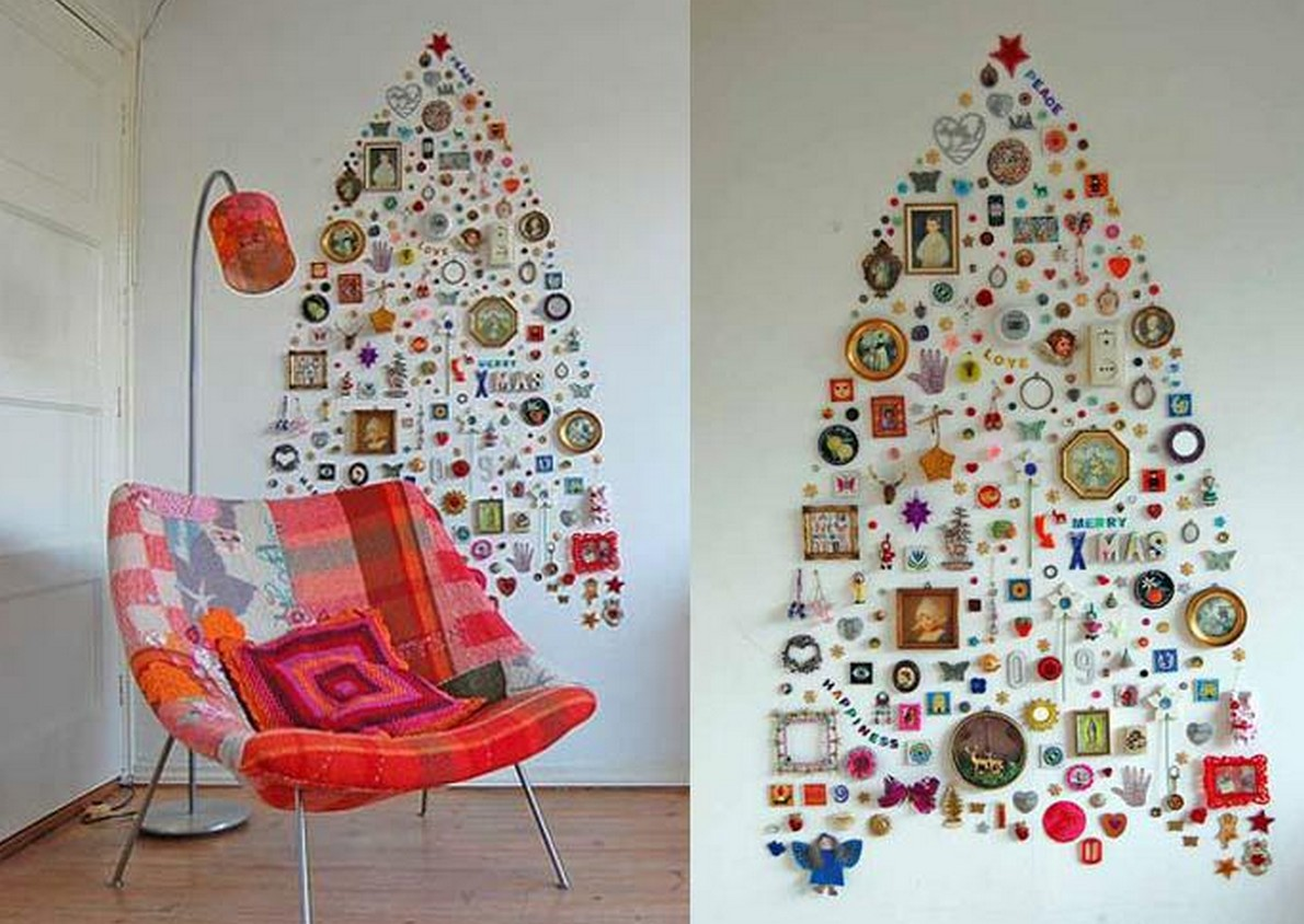 Decorazioni Per Casa Natalizie : Ecco spettacolari e non convenzionali alberi di natale per