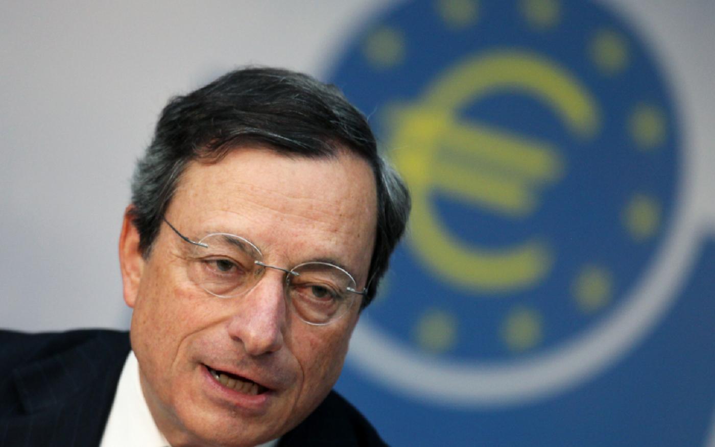 Mario Draghi, Presidente della Banca centrale europea