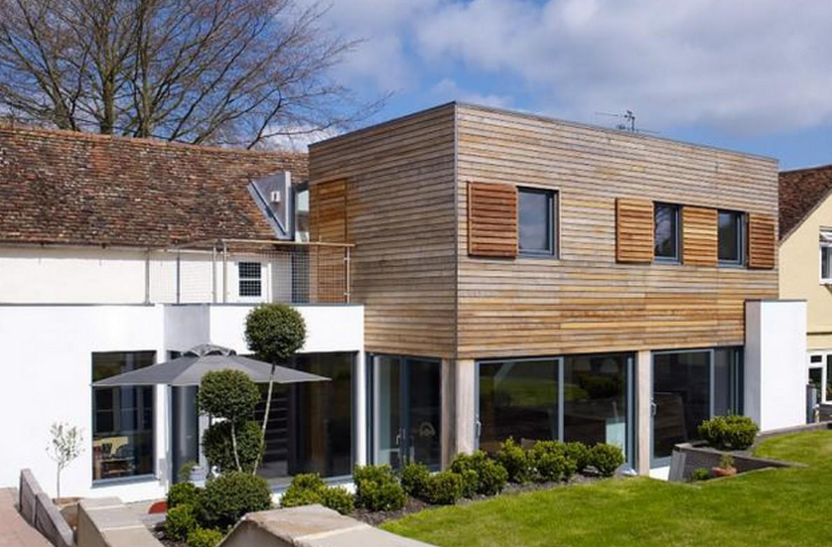 Lo spettacolare lifting di una casa di campagna del xvii for Case da architetto