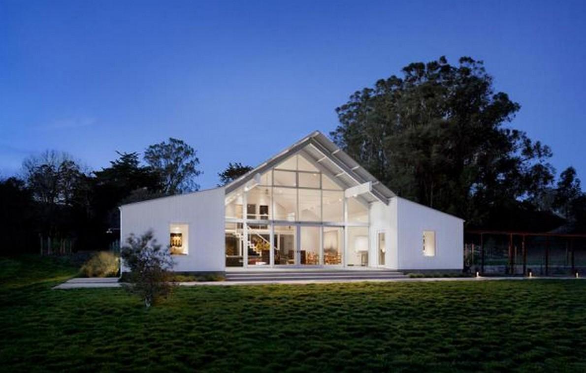 La casa ecologica nelle campagne californiane
