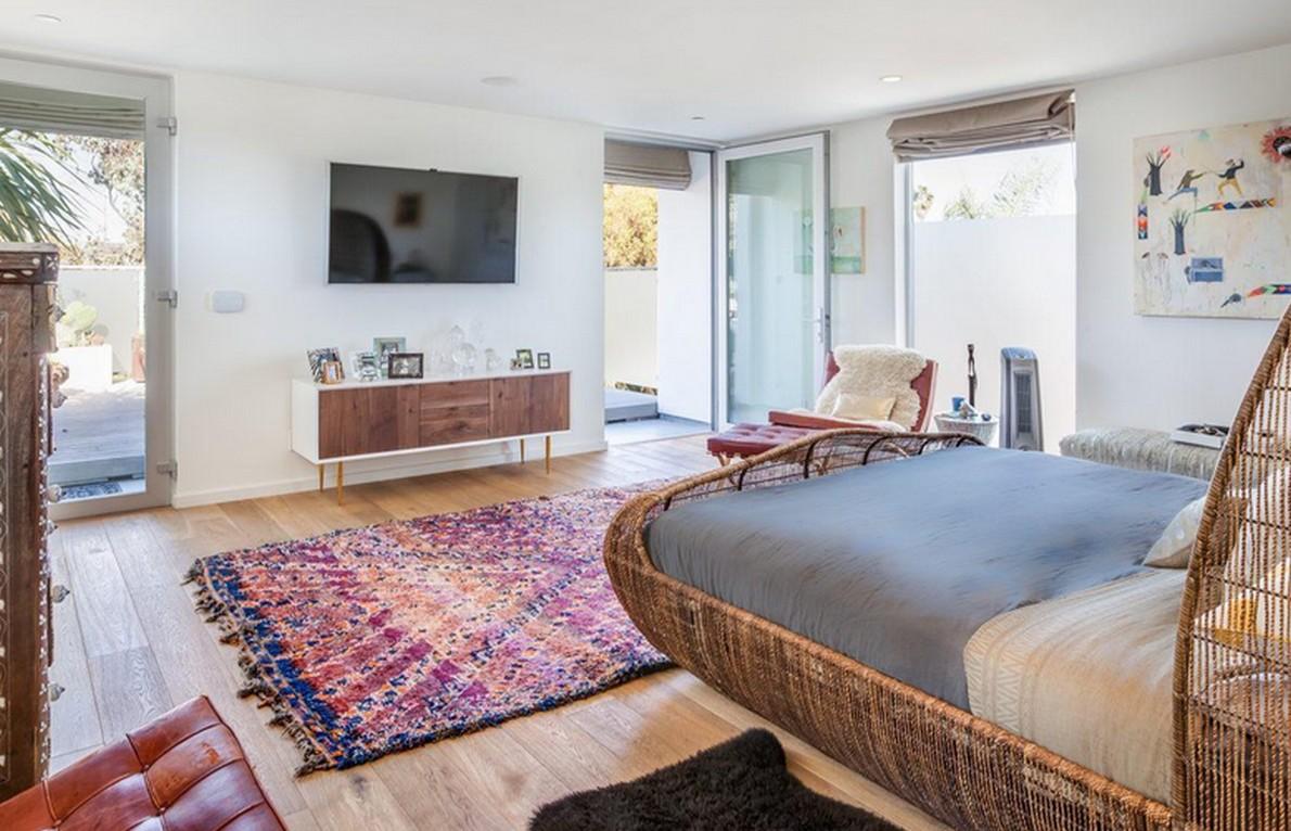 Interni della casa californiana