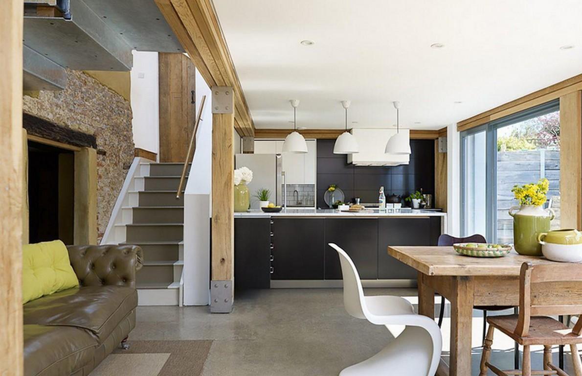 Lo spettacolare lifting di una casa di campagna del xvii for Design della casa di campagna francese