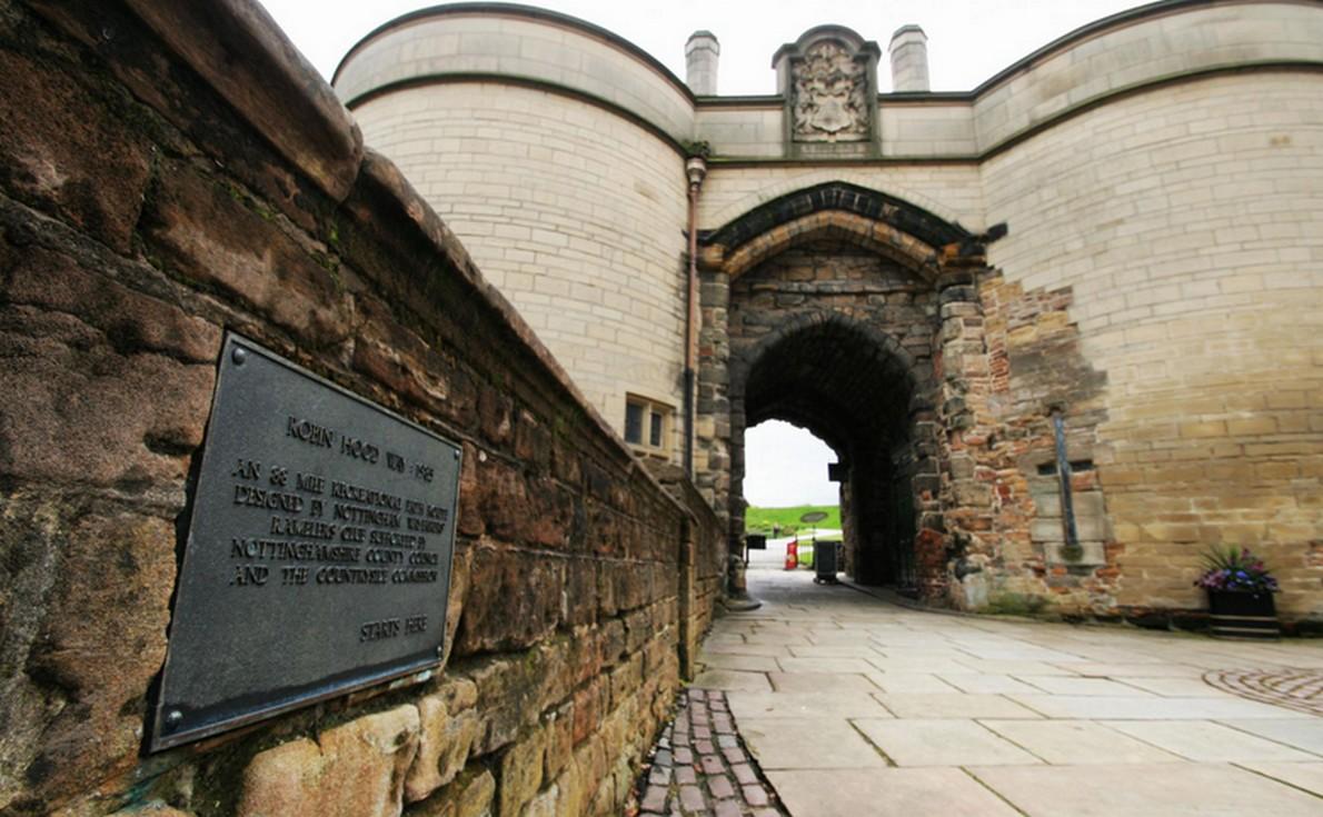 Il castello di Nottingham famoso per la leggenda di Robin Hood