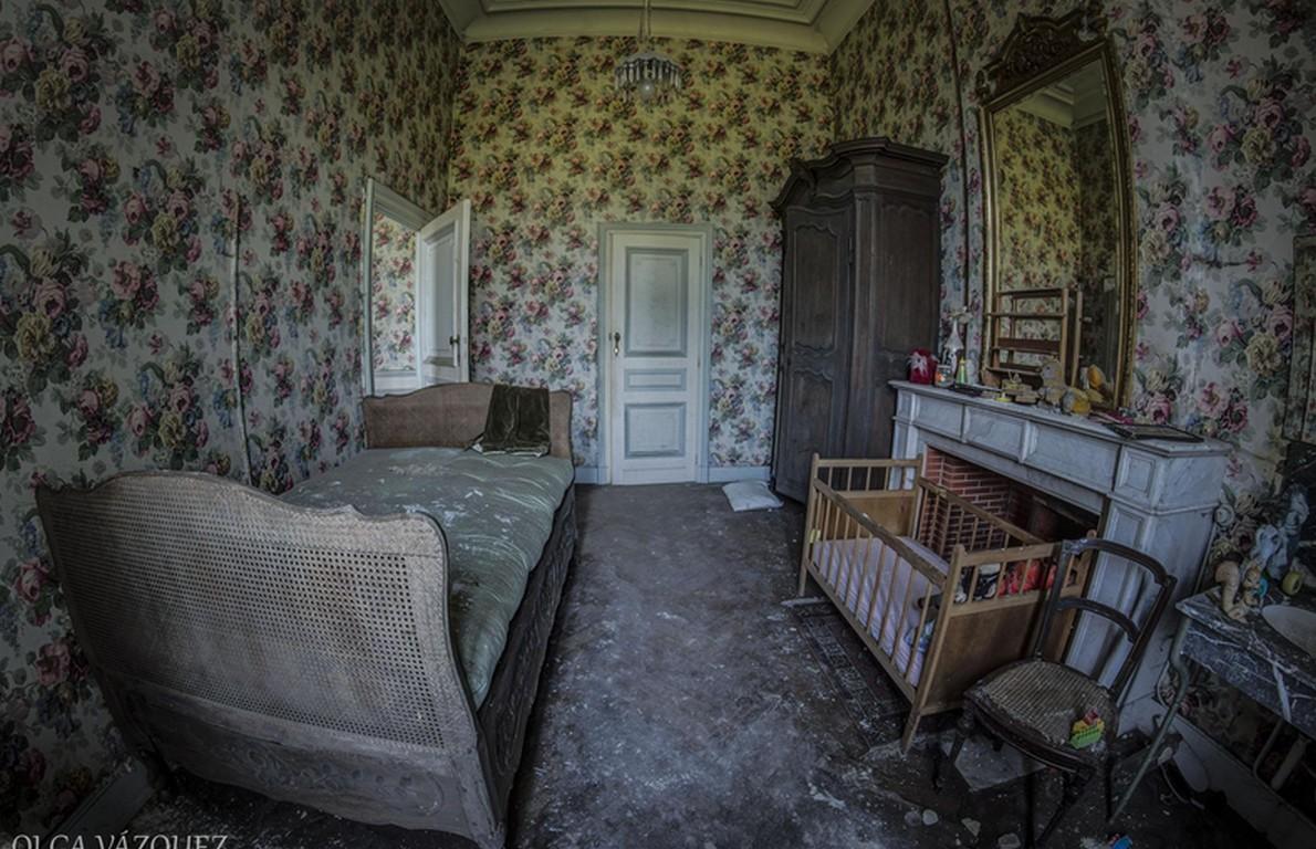 Le camere del Chateau de la Foret