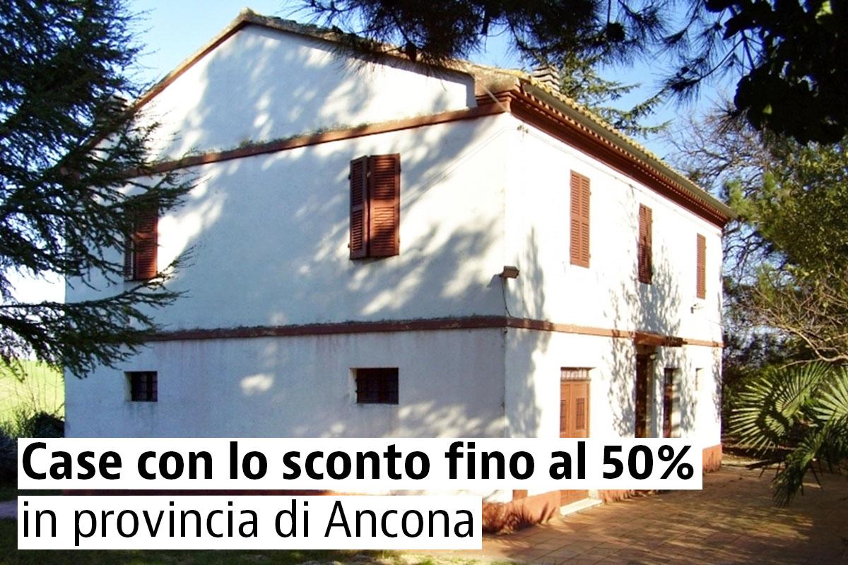 Case con lo sconto a Jesi, Chiaravalle, Morro d'Alba, Fabriano e in tutta la provincia di Ancona
