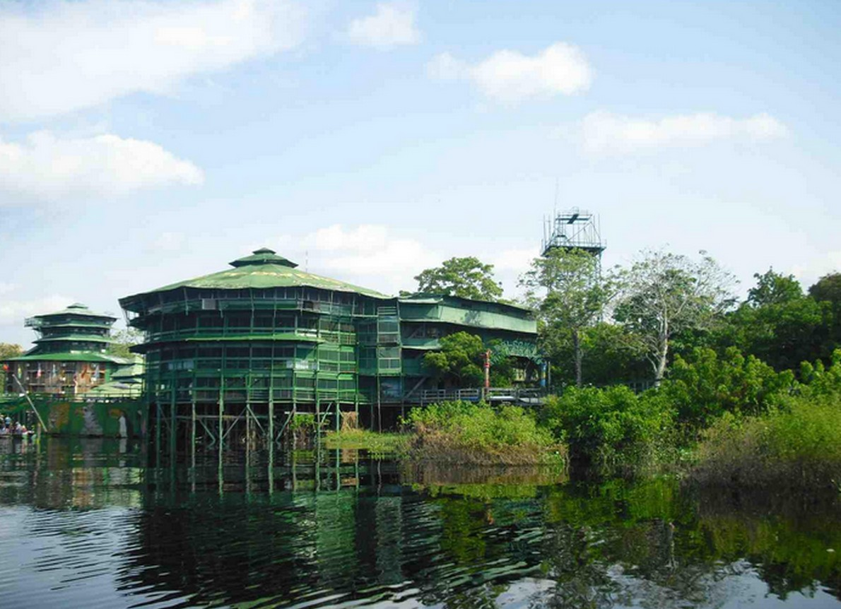 L'hotel sul Rio delle Amazzoni