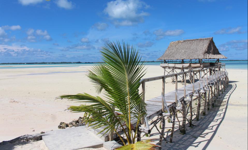 L'hotel sull'isola da sogno di Kiritimati