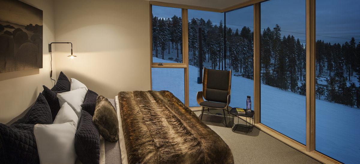Casa ai piedi delle piste da sci negli USA