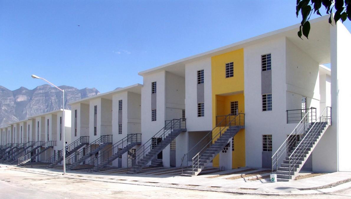 Alloggi popolari in Messico progettati dall'architetto Alejandro Aravena