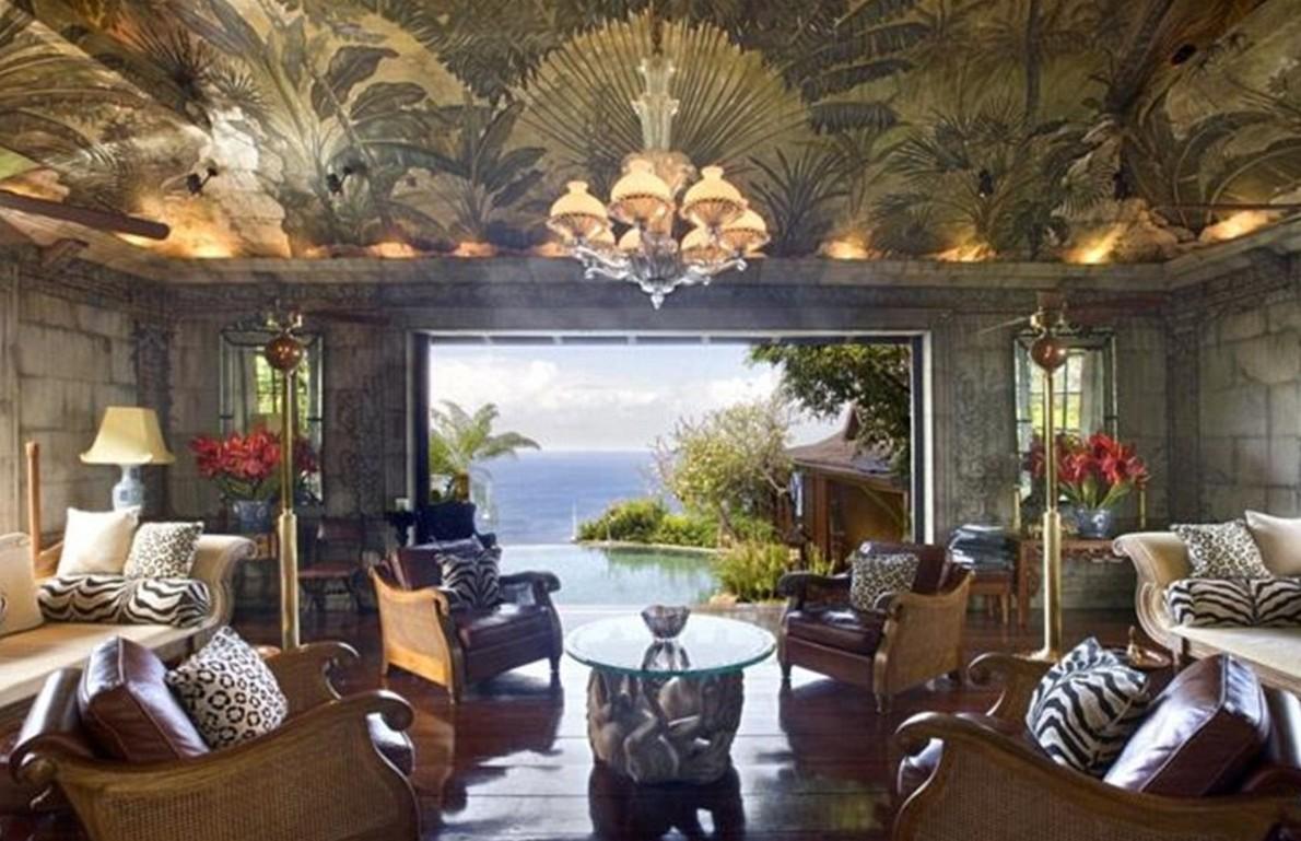 Il tranquillo rifugio costruito per david bowie ai caraibi for Piani casa dei caraibi