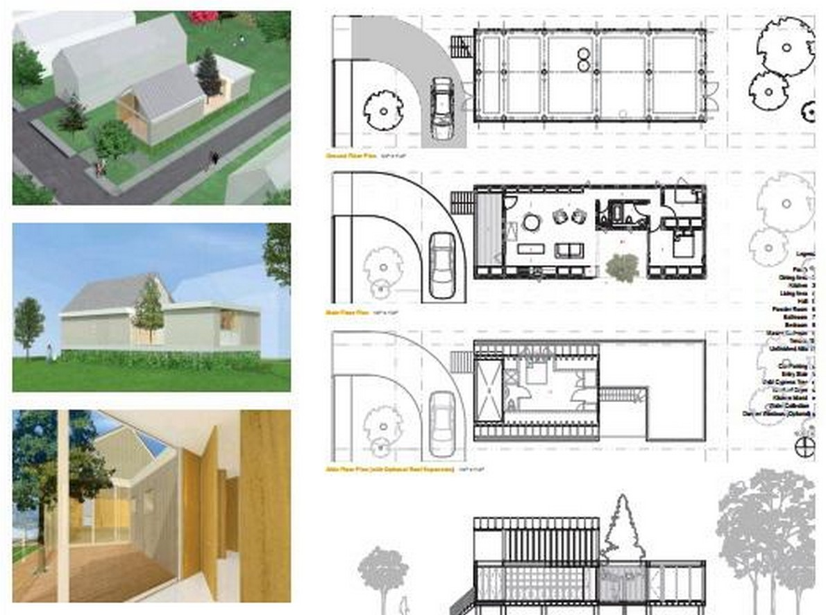 Ecco pi di 20 progetti gratuiti per costruire case for Casa moderna progetti