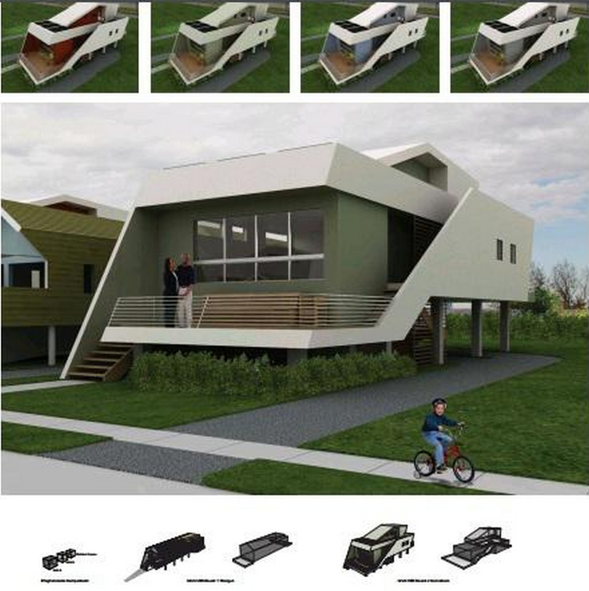 Modelli di case da costruire finest miniatura di una casa for Modelli di case da costruire