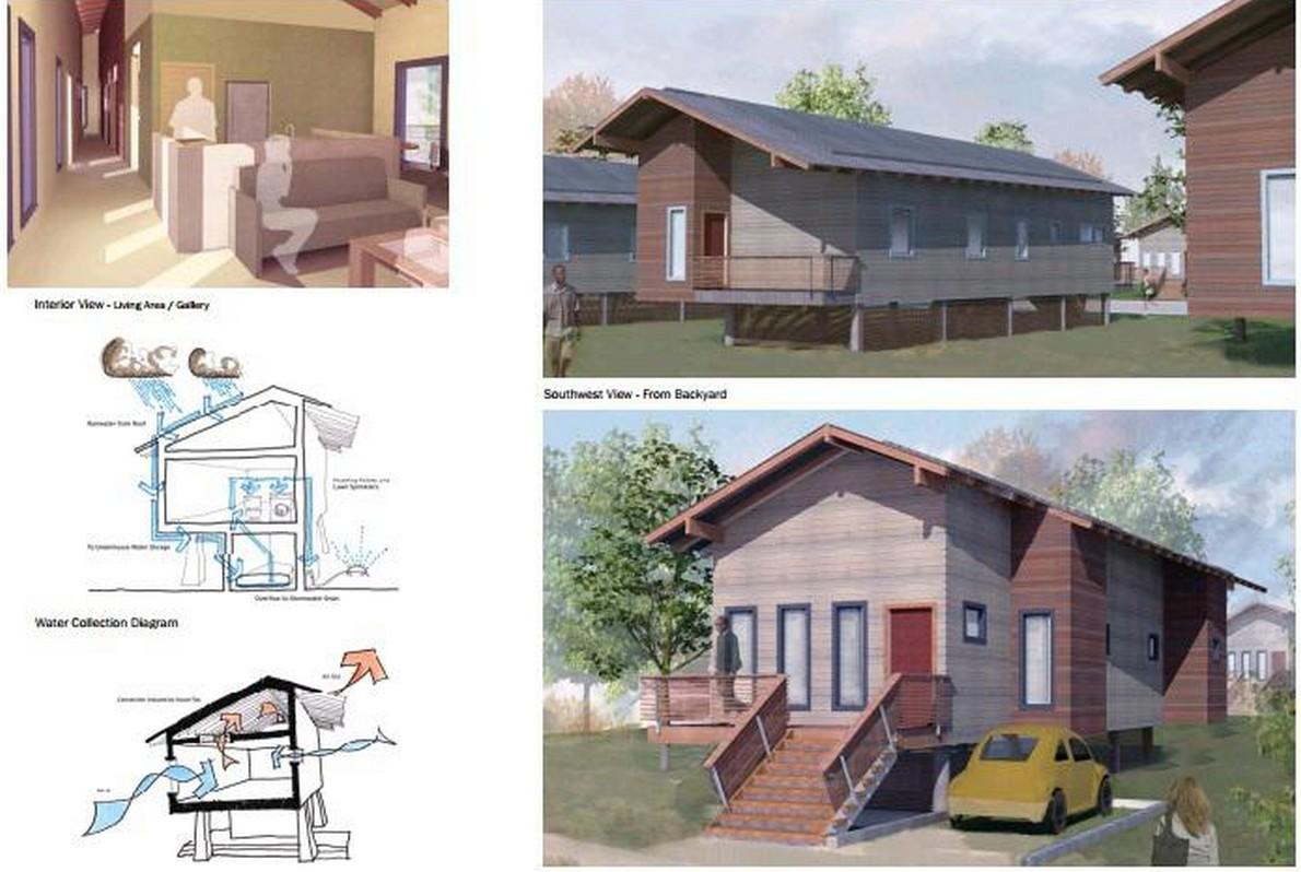 Ecco pi di 20 progetti gratuiti per costruire case for Case progettate da architetti