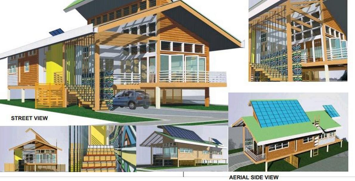 Ecco pi di 20 progetti gratuiti per costruire case for Progetti di cortili per case