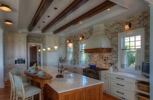 Una cucina in muratura